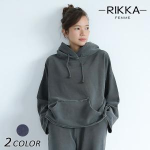 レディース パーカー RIKKA FEMME リッカファム 171027 EE3J28|murasaki