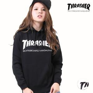 レディース パーカー THRASHER スラッシャー TH8...