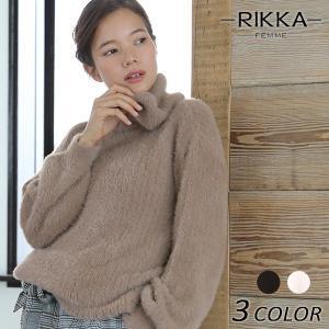 レディース ニット トップス RIKKA FEMME リッカファム 171043 EE3 J28|murasaki