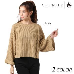 SALE セール レディース セーター AFENDS アフェンズ Fawn-Knit 50-04-038 EE3 I16|murasaki