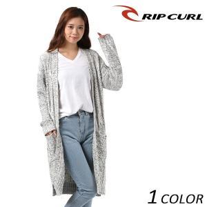 レディース カーディガン RIPCURL リップカール V04-675 EX3 I20|murasaki