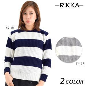 レディース セーター RIKKA リッカ 160010 DD3 K29|murasaki