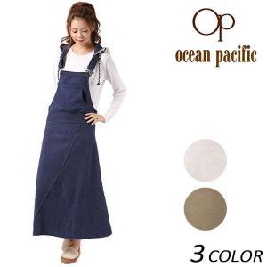 レディース サロペット スカート OP オーピー 557408 EX3 J31 murasaki