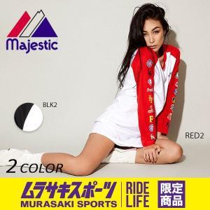 レディース ワンピース Majestic マジェスティック LL19-MLB-7FHA01 ムラサキスポーツ限定 EX3 I13|murasaki