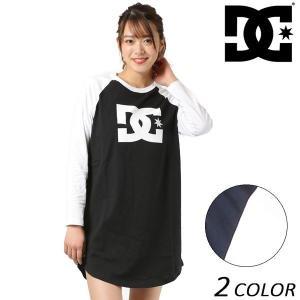 レディース 長袖 Tシャツ ワンピース DC ディーシー 6125J801 FX1 B9 MM|murasaki