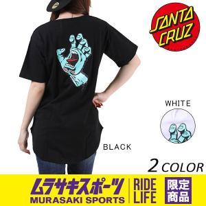レディース 半袖 Tシャツ SANTA CRUZ サンタクルーズ SCREAMING HAND 50271408 ムラサキスポーツ限定 EE1 E19|murasaki