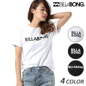 レディース 半袖 Tシャツ BILLABONG ビラボン AI013-200 FX1 L21 murasaki