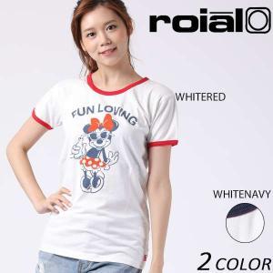 レディース 半袖 Tシャツ roial ロイアル CO20G EE2 G14|murasaki