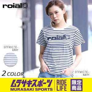 レディース 半袖Tシャツ roial ロイアル GLTD161 ムラサキスポーツオンラインストア限定 EE2 G14|murasaki