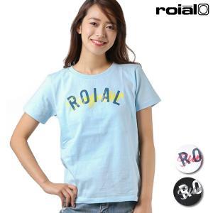 レディース 半袖 Tシャツ roial ロイアル GTS389 FF1 L19|murasaki