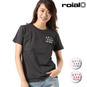 レディース 半袖 Tシャツ roial ロイアル GTS391 FF1 L19|murasaki