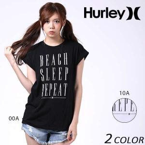 レディース 半袖 Tシャツ Hurley ハーレー GTSBSLREC EE2 F12|murasaki