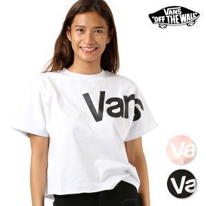 レディース 半袖 Tシャツ VANS バンズ VA18HS-GT52MS ムラサキスポーツ限定 FF2 F30 murasaki