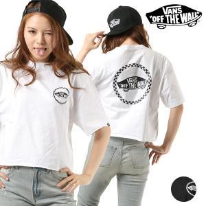 レディース 半袖 Tシャツ VANS バンズ VA18SS-GT12 FF1 C23 murasaki