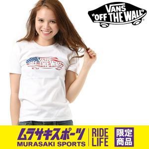 SALE セール レディース 半袖 Tシャツ VANS バンズ VA18SS-GT53MS ムラサキスポーツ限定 FF1 E19|murasaki