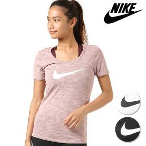 レディース 半袖 Tシャツ NIKE ナイキ 894664 フィットネス FF3 G23|murasaki