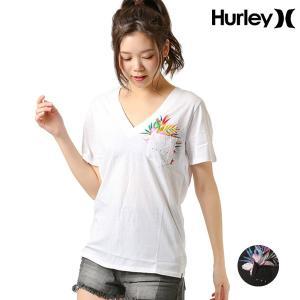 SALE セール レディース 半袖 Tシャツ Hurley ハーレー AA1145 ムラサキスポーツ限定 FF1 C12|murasaki