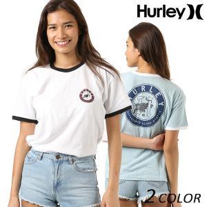 SALE セール レディース 半袖 Tシャツ Hurley ハーレー AH6155 FF2 E1 murasaki