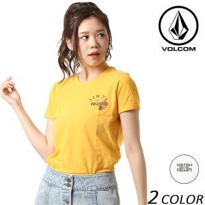 レディース 半袖 Tシャツ VOLCOM ボルコム B3511800 FX1 C12|murasaki