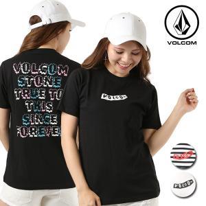 レディース 半袖 Tシャツ VOLCOM ボルコム Since Fever S/S Tee B35118JA FX1 C20|murasaki