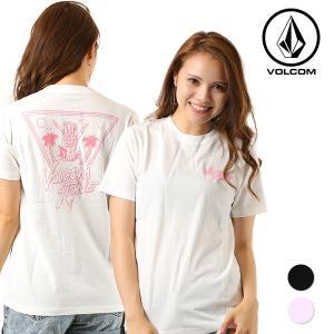 レディース 半袖 Tシャツ VOLCOM ボルコム See Ya Next S/S Tee B35118JD FX1 C20|murasaki
