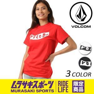 レディース 半袖 Tシャツ VOLCOM ボルコム Pistol S/S Tee B35118JE ムラサキスポーツ限定 FX1 D18|murasaki