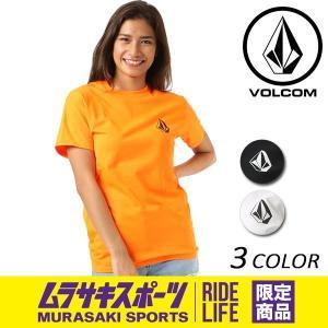 レディース 半袖 Tシャツ VOLCOM ボルコム Stone S/S Tee B35118JF ムラサキスポーツ限定 FX1 D18|murasaki