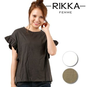 SALE セール レディース 半袖 Tシャツ RIKKA FEMME リッカファム R18S2102 FF1 E25|murasaki