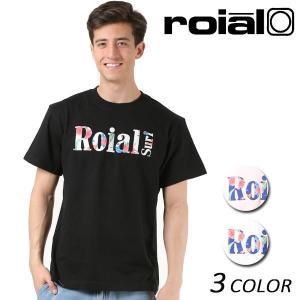 メンズ 半袖 Tシャツ roial ロイアル TS622 FF1 B14|murasaki