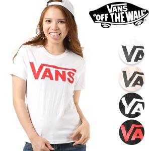 レディース 半袖 Tシャツ VANS バンズ VANS-GT01 FF1 E19 murasaki