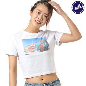 SALE セール レディース 半袖 Tシャツ CHILLAX チラックス PH-MOUNTAIN G...