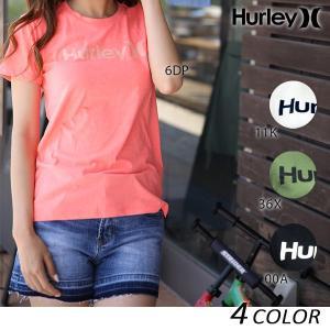 レディース 半袖 Tシャツ Hurley ハーレー GTS0007400 EE1 A27|murasaki