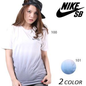 レディース 半袖 Tシャツ NIKE SB ナイキエスビー SB DRI-FIT ディップダイ 841543 EE2 E15|murasaki