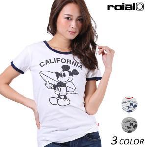 レディース 半袖 Tシャツ roial ロイアル CO19G EE2 D5|murasaki
