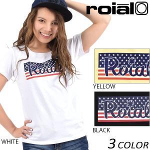 レディース 半袖 Tシャツ roial ロイアル GTS368 EE1 B25|murasaki