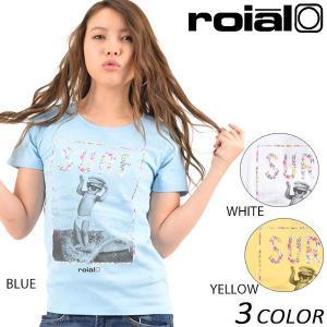 レディース 半袖 Tシャツ roial ロイアル GTS370 EE1 B25|murasaki