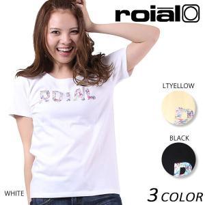 【数量限定】 レディース 半袖 Tシャツ roial ロイアル GTS377 EE2 E13|murasaki