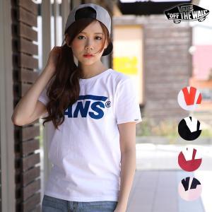 レディース 半袖 Tシャツ VANS バンズ VA17SS-GT11 正規品 ロゴ 人気 トレンド ストリート スケート EE1 C7|murasaki