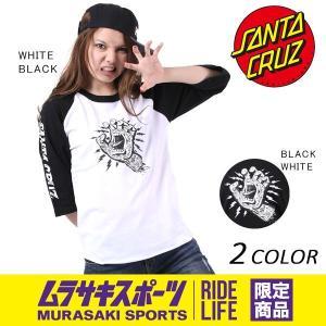 レディース 長袖 Tシャツ SANTA CRUZ サンタクルーズ ROCKTATOO HAND 50271417 ムラサキスポーツ限定 EE1 E24|murasaki