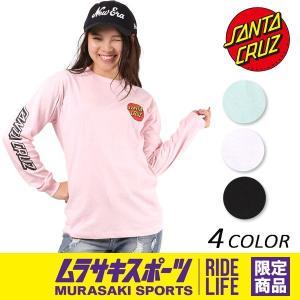 レディース 長袖 Tシャツ SANTA CRUZ サンタクルーズ CLASSIC DOT 50273407 ムラサキスポーツ限定 EE3 I28|murasaki