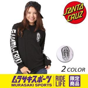 レディース 長袖 Tシャツ SANTA CRUZ サンタクルーズ LST GUADALUPE INKED 50273408 ムラサキスポーツ限定 EE3 J16|murasaki