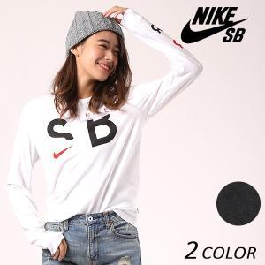 レディース 長袖 Tシャツ NIKE SB ナイキエスビー SB 875324 EE4 J13 murasaki