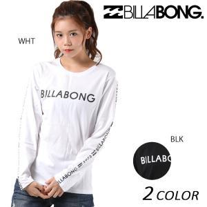 レディース 長袖 Tシャツ BILLABONG ビラボン AH014-050 EX3 H30|murasaki