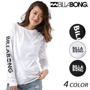 レディース 長袖 Tシャツ BILLABONG ビラボン AI013-053 FX1 L21|murasaki