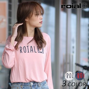 レディース 長袖 Tシャツ roial ロイアル GCT263 EE3 I1|murasaki