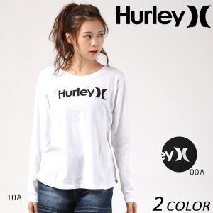 レディース 長袖 Tシャツ Hurley ハーレー GTLSOAOED EE3 H30|murasaki