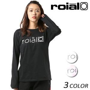 レディース 長袖 Tシャツ roial ロイアル GTS386 FF1 L19|murasaki