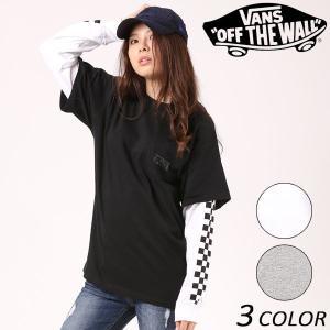 レディース 長袖 Tシャツ VANS バンズ VA17FW-GT04 EE3 J13|murasaki