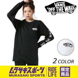 レディース 長袖 Tシャツ VANS バンズ VA18SS-GT51MS ムラサキスポーツ限定 FF1 B8 MM|murasaki