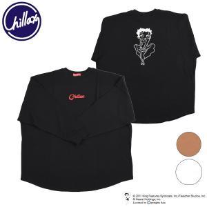 SALE セール レディース 長袖 Tシャツ CHILLAX チラックス BETTY CHILX L...
